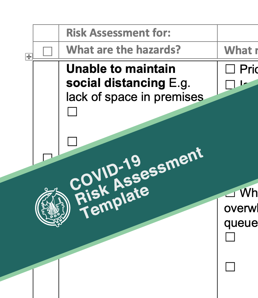 Covid-19 Risk Assessment Template